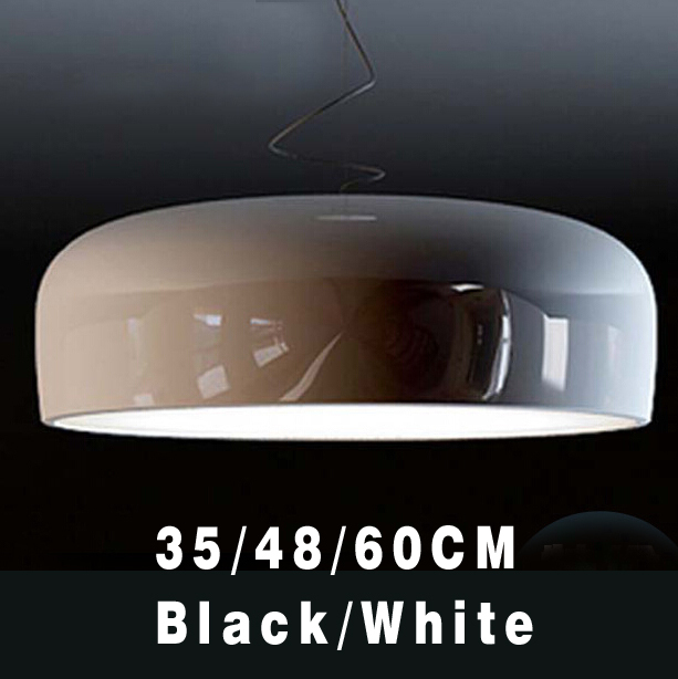 Bulb freely Modern Minimalist Nordic Restaurant Lights Red Black And White Aluminum Paint Shinning Pendant Lamp<br><br>Aliexpress