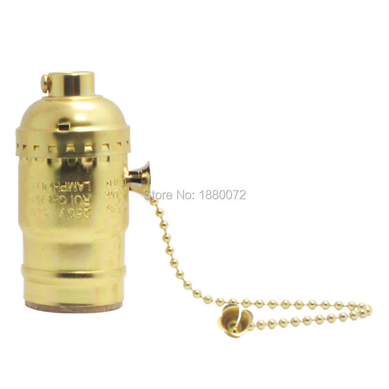 Free shipping Antique vintage Edison bulb holder/lampholder/socket/base e26/e27(China (Mainland))