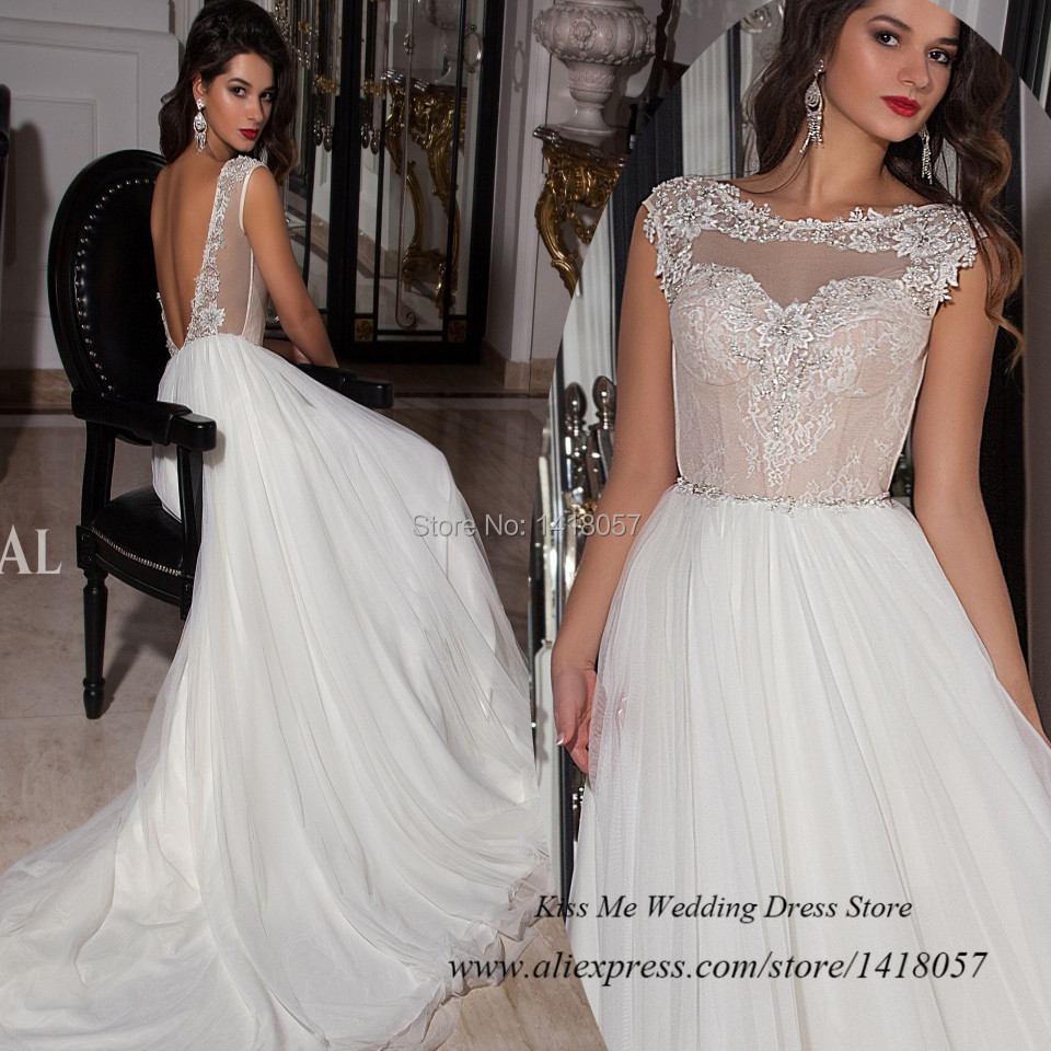 Backless cheap wedding dresses made in china lace wedding for Cheap wedding dresses made in china