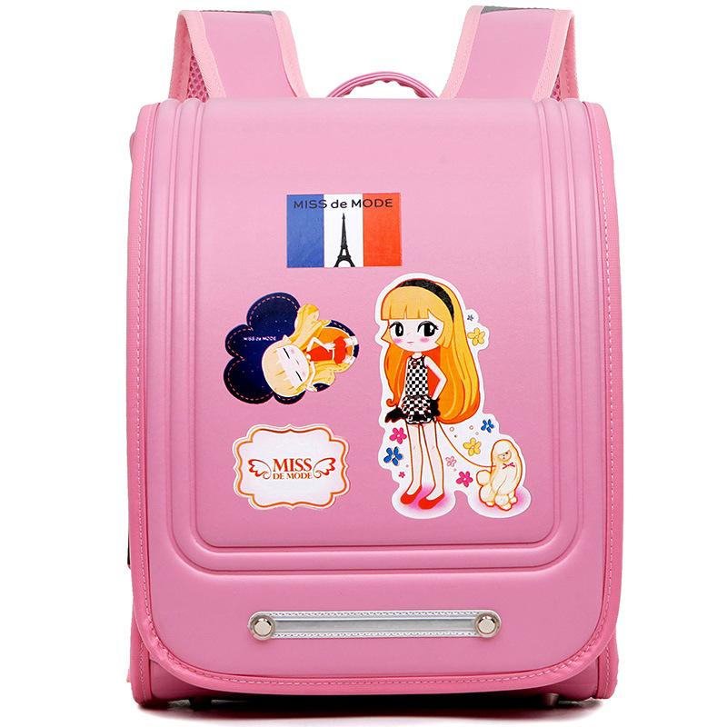 Здесь можно купить   Arrival Japa Pu Girls Solid Trolley School Backpack Bags Softback European And American Style Air Cushion Belt Mochilas  Камера и Сумки