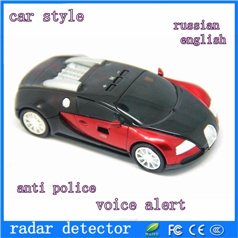 [해외]새로운 휴대용 러시아어 / 영어 전환 음성 경고 자동차 레이..