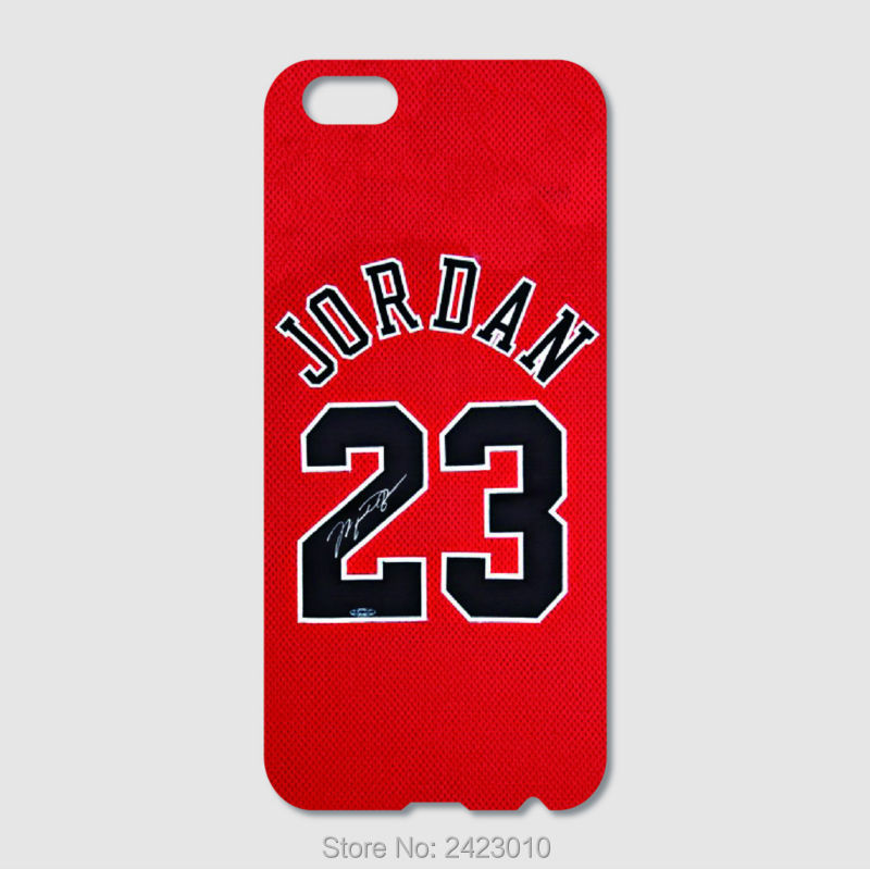 High Quality Cell phone case For iPhone 6 6S 7 Plus SE 5 5S 5C 4S iPod Touch 6 5 4 Case Hard PC NBA jersey Michael Jordan No. 23(China (Mainland))