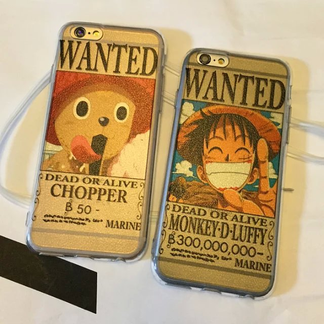 Newest One Piece Chopper Luffy Pattern Hard Back Cover Protective Cell Phone Case Skin For Apple iPhone 5 5S 6G 6 Plus Case 35F(China (Mainland))