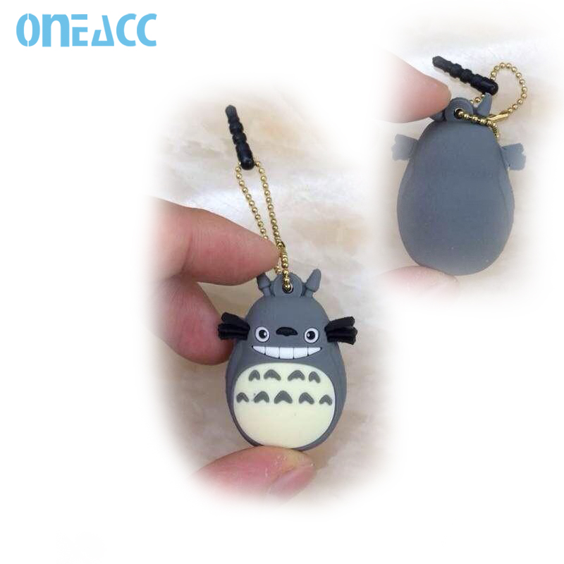 Cartoon My Neighbor Totoro Dust plug For iPhone5s 4 iPad Earphone Jack Plug For Samsung Galaxy S4 S3 Mobile Phone(China (Mainland))