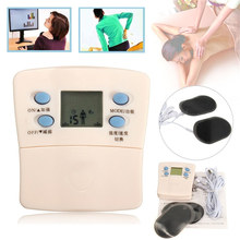 New Electronic Pulse Mini Massager Body Slimming Massage Electrode 2 Pads Muscle Relax Pain Relief Electric