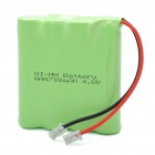 "Rechargeable 4.8V ""700mAh"" 4 x AAA NI-MH Battery Pack(China (Mainland))"