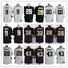 Game 100% Stitiched,New Orleans Saints,9 Drew Brees,Jairus Byrd,Kenny Vaccaro,Sheldon Rankins ,for mens(China (Mainland))