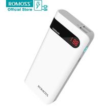 Buy Original ROMOSS Sense 4P Power Bank LCD 10400mAh Powerbank Backup Power Charger External Phone Battery Pack for $21.92 in AliExpress store