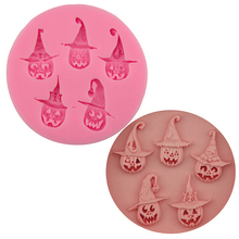 NEW Halloween Pumpkin Shape Cake Molds for Fondant Jello Jelly Sugar Ice Moulds Cake Decorating Tools Kitchen Accessories