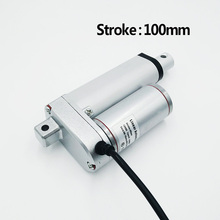Buy Electric Linear Actuator 12V/24V DC Motor 100mm Stroke Linear Motion Controller 500N/1000N/1300N Max Heavy Duty for $26.00 in AliExpress store