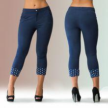 2016 women fashion solid flat calf-length pants zipper fly skinny mid waist casual women pants hot sale(China (Mainland))