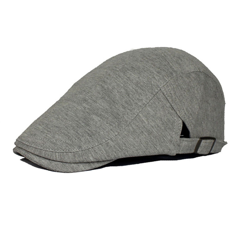 2015 Leisure Freeshipping Adult Solid free Ivy Caps Golf New Driving Cabbie Newsboy Flat Cap Hat - Many Colors Hats Kingdom store