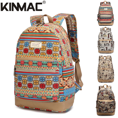 KinMac backpack bag 15.6 inch laptop backpack men and women business shoulder waterproof travel backpack school computer bag(Hong Kong)