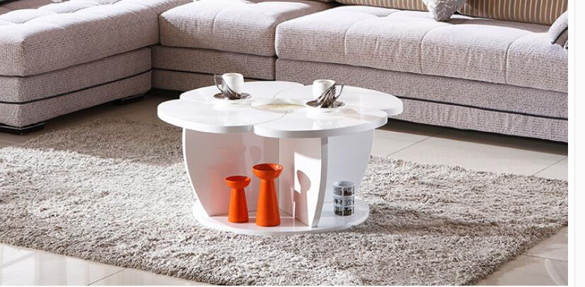Modern furniture round table flower tea table of the lacquer that bake(China (Mainland))