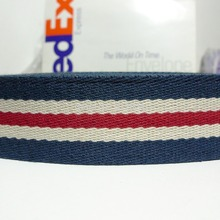1.5'' Inch 38mm Strip Pattern Polyester Cotton Webbing For Handbag Handle Straps(China (Mainland))