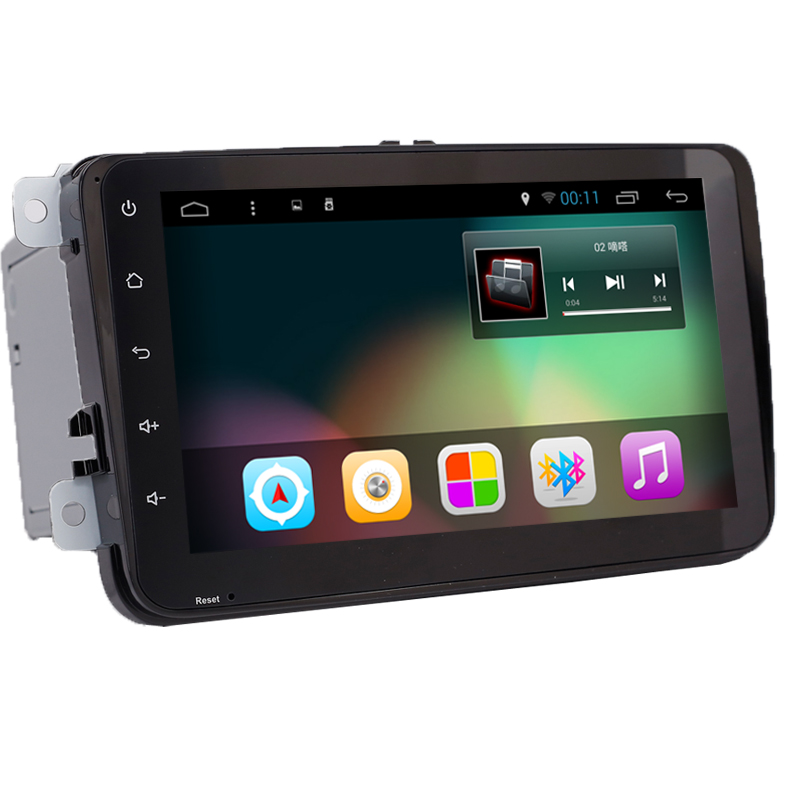 "8"" 1080P 1024*600 Quad Core Android 4.4 Car PC Radio Audio GPS Navigation Golf 5 6 Polo Jetta Touran Eos Passat Tiguan Sharan(China (Mainland))"