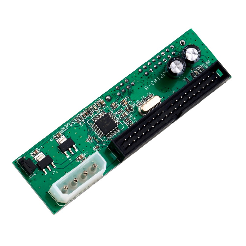 Free Shipping! PATA IDE TO SATA Converter Adapter For 3.5 HDD DVD Brand New(China (Mainland))