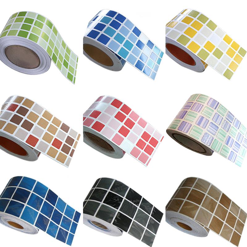 Acquista all 39 ingrosso online adesivi per piastrelle a for Stickers adesivi per piastrelle