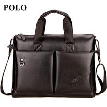 Buy POLO 2017 Men messenger bags genuine leather bag men briefcase designer handbags high famous brand business men bag for $22.96 in AliExpress store