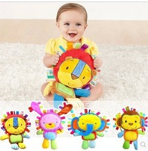 2015 new arrival Baby toy Comforting doll with BB rattles Toys for baby 0-3 years baby play toy Appease dolls free shipping(China (Mainland))