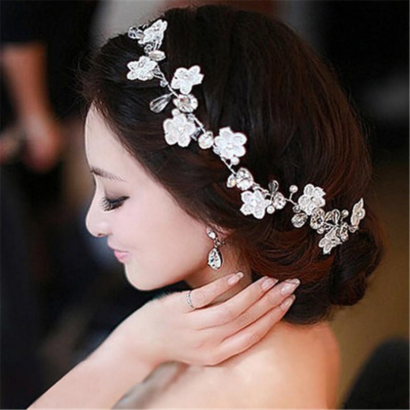 Украшение на голову своими руками для невесты