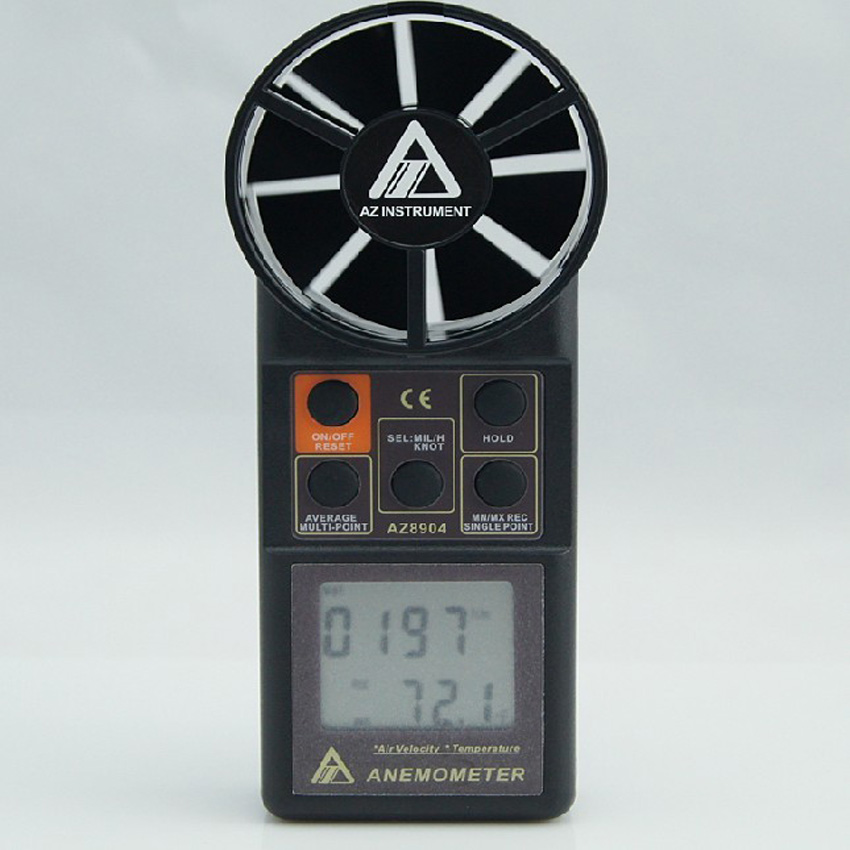 Electronic Measuring Instruments : One handheld digital anemometer wind speed meter