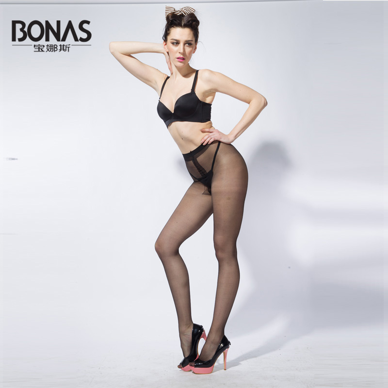 2016 Bonas Shiny Tights Women Medias Pantys Women Verano Mujer Sin Costura Colourful Pantimedias Mujer T-Crotch(China (Mainland))