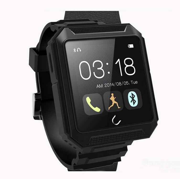 UTerra 1.6 Inch weight 47g IP68 Bluetooth 4.0 Intellingent Sport Smart Watch support iPhone LG Samsung(China (Mainland))
