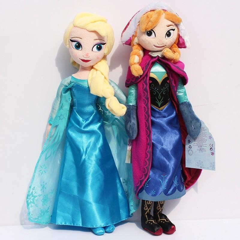 Princess Elsa plush Anna Plush Doll Toy Toys Brinquedos Kids Dolls for Girls