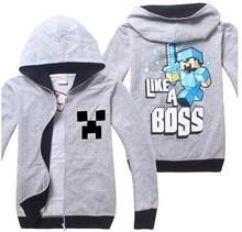 2015 1 pcs cotton Active hooded Spring Autumn brand kid creeper Boys Hoodies/sweatshirts for boys/children clothing/kids hoodies(China (Mainland))