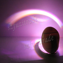 New Home Room Romantic Rainbow Projector LED Night Lights / Lamp Display Kids Children Best Gift Free Shipping BC000027 -46(China (Mainland))