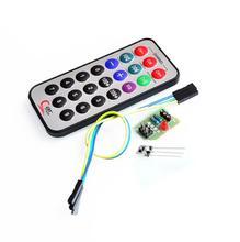 Buy 10sets/lot HX1838 Infrared Remote Control Module IR Receiver Module DIY Kit HX1838 Arduino Raspberry Pi for $10.09 in AliExpress store