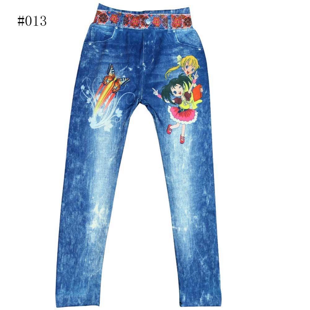 Гаджет  High quality summer kid Leggings pants printing Elsa children trousers girls pants free shipping None Детские товары