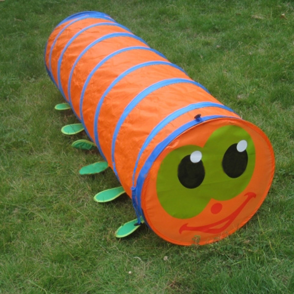 BS#S Children's Tent Caterpillar Crawling Animal Tunnel Baby Puzzle Toys Indoor and Outdoor Kids Play Tent 2016 New(China (Mainland))