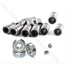 NEW, 11 x LM8UU + 3 x 608ZZ +2 x 624ZZ Bearing Kit for RepRap Wilson TS 3D Printer Free Shipping
