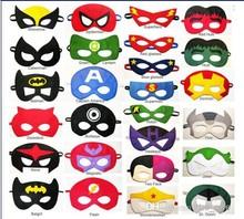 children superhero mask bumblebee mask transformer captain america ninja turtle iroman mask children birthday gift(China (Mainland))