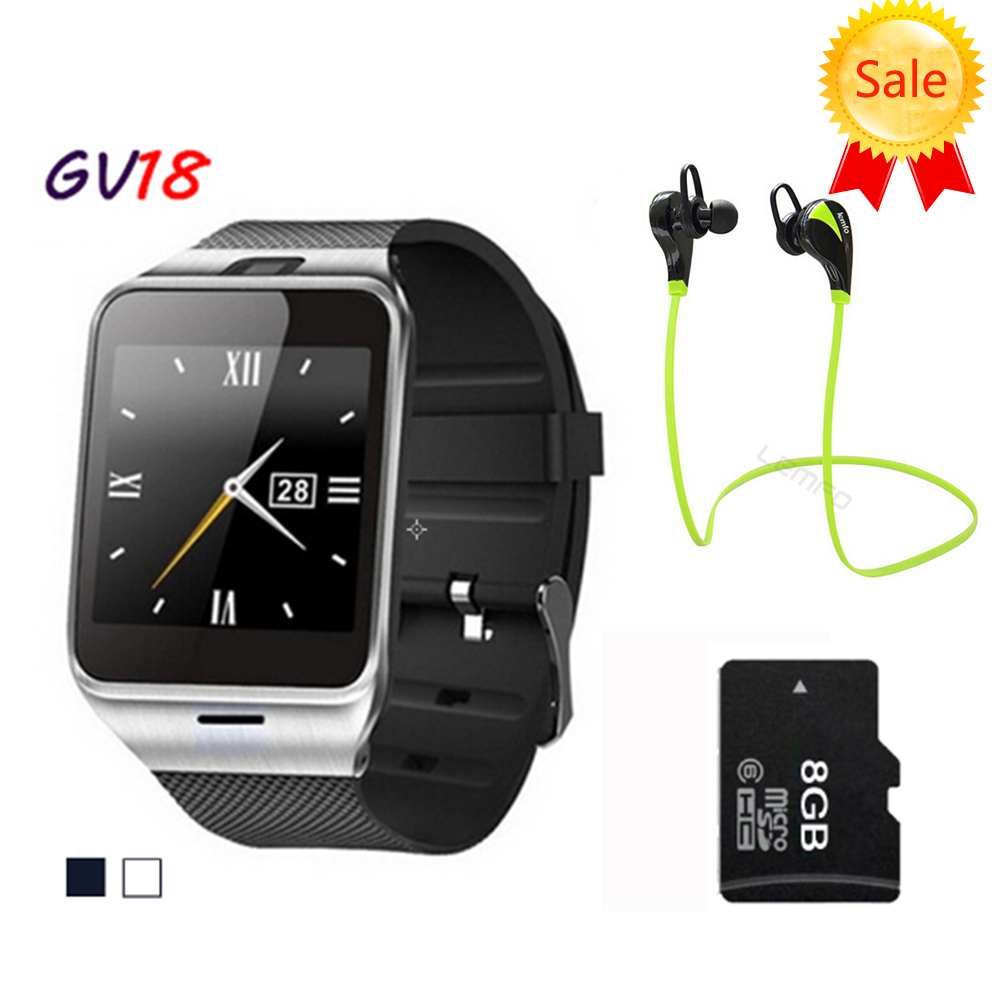Smart Watch Aplus GV18 Clock Sync Notifier Support Sim Card Bluetooth Connectivity for Android Phone Smartwatch Watch(China (Mainland))