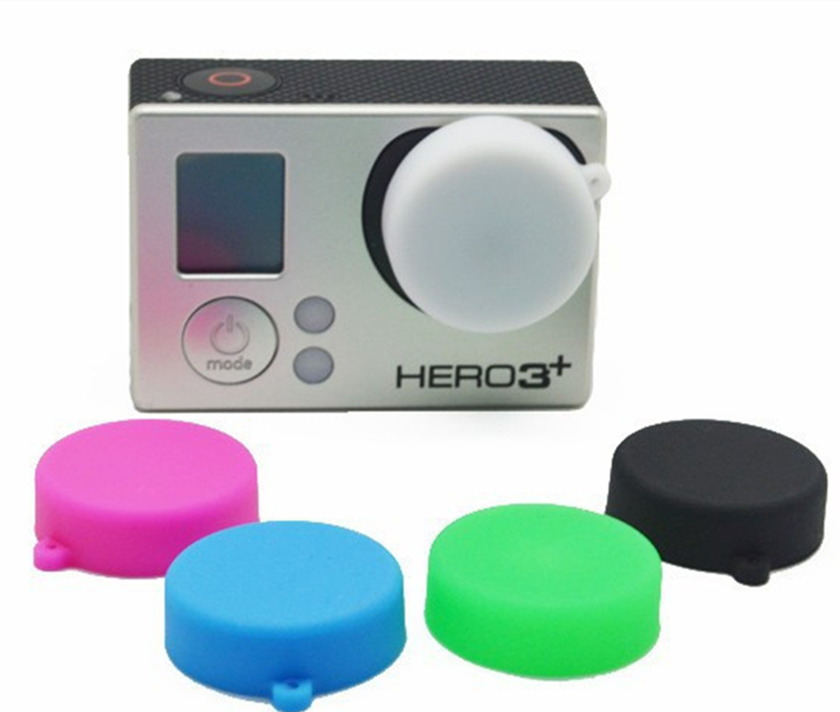 Protective Silicone Lens Cap Case Cover for GoPro Hero 4 3+ 3 Sports Action Camera<br><br>Aliexpress