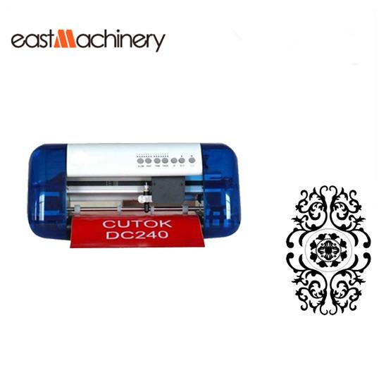 A4 Size Mini Desktop Cutting Plotter, Portable PU PVC Cutter Plotter Mini Vinyl Cutter Cutok DC240(China (Mainland))