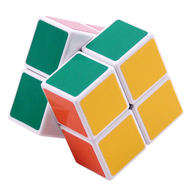 2015 ShengShou Magic Cube Professional 2x2 Matte Stickers Cubo Magico 50mm Puzzle Speed Classic Toys Learning Education(China (Mainland))