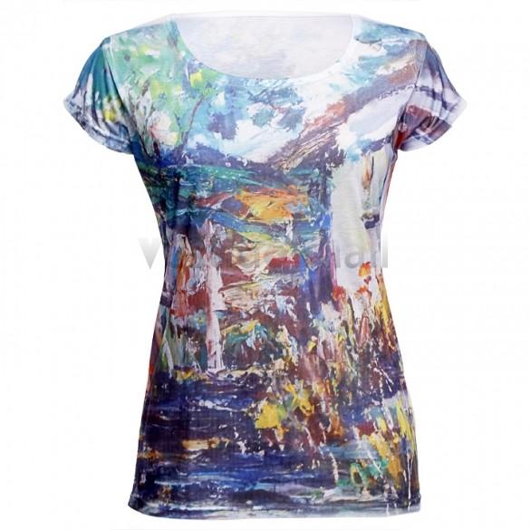 Женская футболка Brand New#V_M 2015 o 10 30 ### женская футболка new brand 2015 o 8799