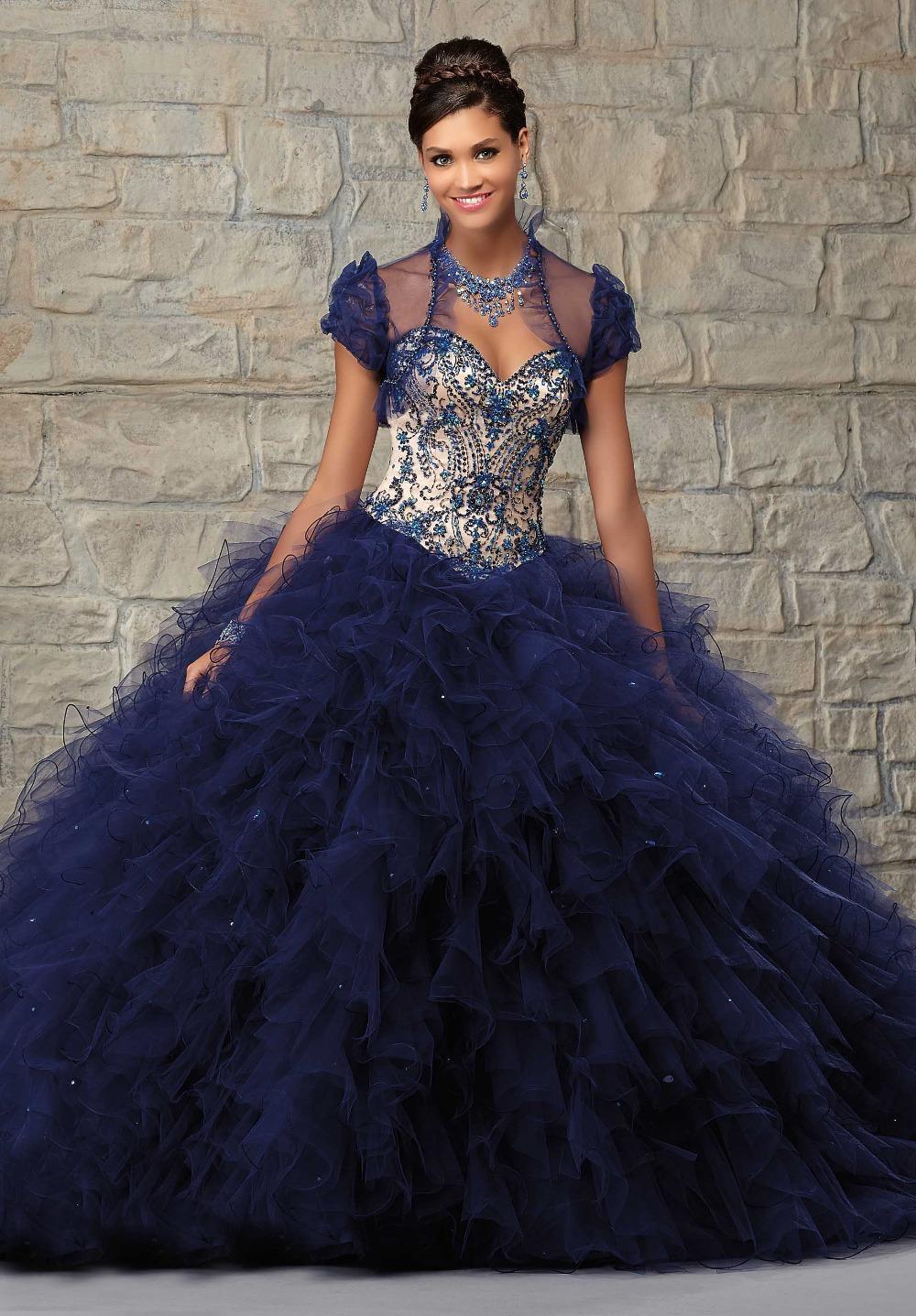 Online Get Cheap Dark Blue Princess Prom Dress -Aliexpress.com ...