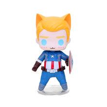 8-10 centímetros Brinquedos Marvel The Avengers Figura Q Versão de Super-heróis Capitão América Soldado Inverno Spiderman Figuras Colecionáveis Modelo(China)