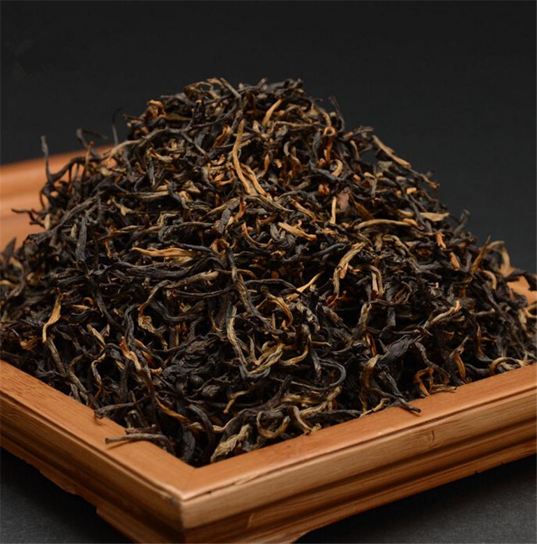 China Yunnan Black Tea Dian Hong 250g, Fengqing Dianhong Black Tea Large Leaf, Chinese Black Dianhong Gongfu(China (Mainland))