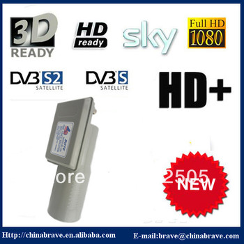 2013 new hot sales c band twin LNBF for digital HD TV