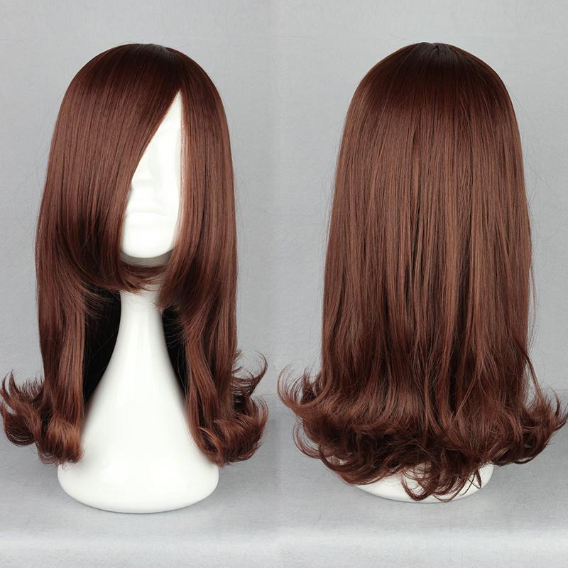 lolita Fashion Long Light Brown Straight  pop   Cosplay straight  Wig<br><br>Aliexpress