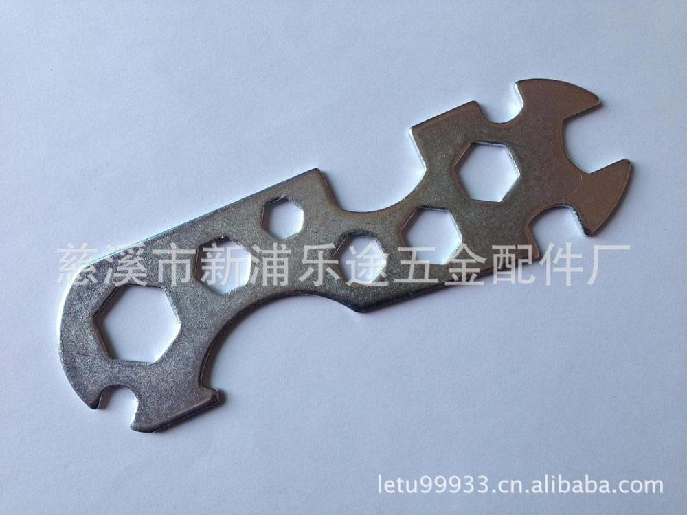 Lotto bicycle wrench tool flower wrench multifunctional six angle wrench porous flower wrench(China (Mainland))