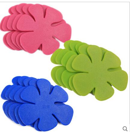 5 Pieces/Lot Anti-microbial Antislip Floral Bathroom Mat For Baby PVC Bath Rug 4.53*4.33Inch Badematte Tapete Para Banheiro(China (Mainland))