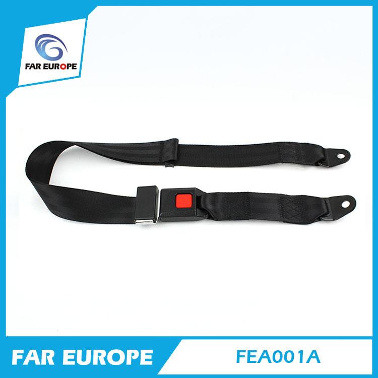 E-mark Certificate Car 2 Point Safety Seat Belt Manufacturer School Bus Safety Belt FEA001A(China (Mainland))