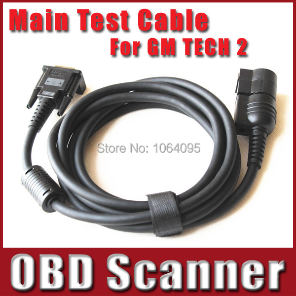 Tech2 Scan Tool Test Main Cable , Main Test Cable For GM Tech 2 Scanner , Tech2 Cable Diagnostic Interface(China (Mainland))